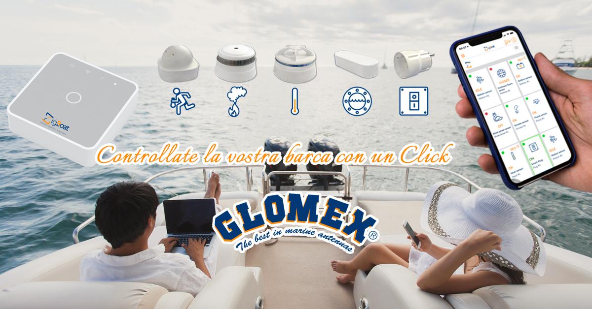 Glomex ZigBoat - Controlla la tua barca con un Click