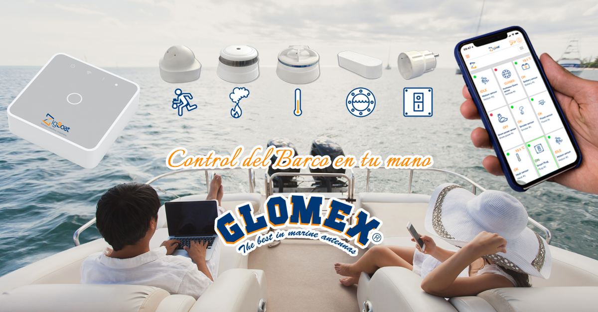 Glomex ZigBoat - Control del Barco en tu mano